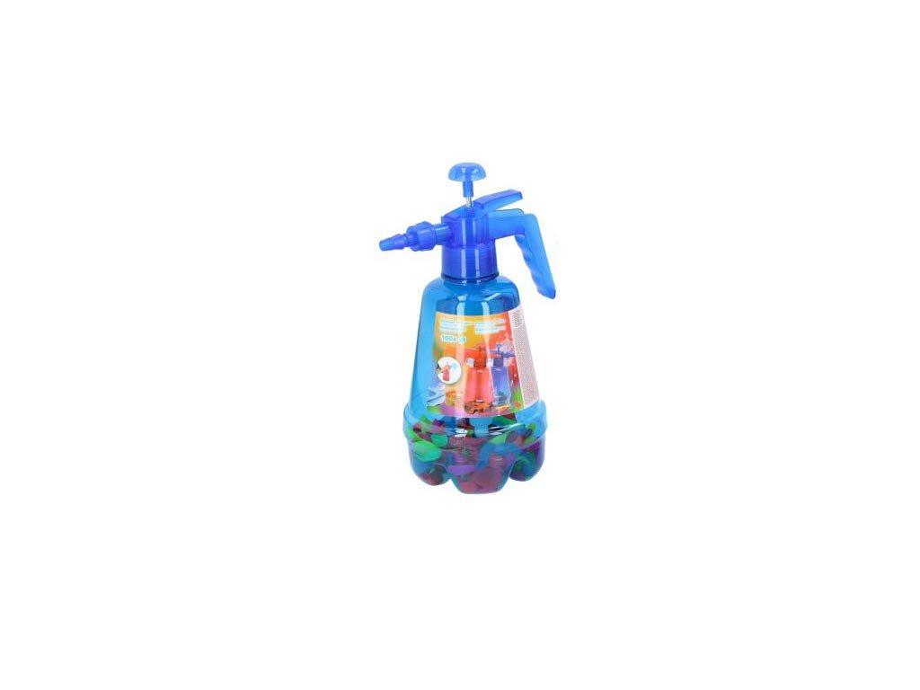 Eddy Toys Σετ Τρόμπα και 100 Πολύχρωμα Μπαλόνια για Party, Balloon pumper Μπλε