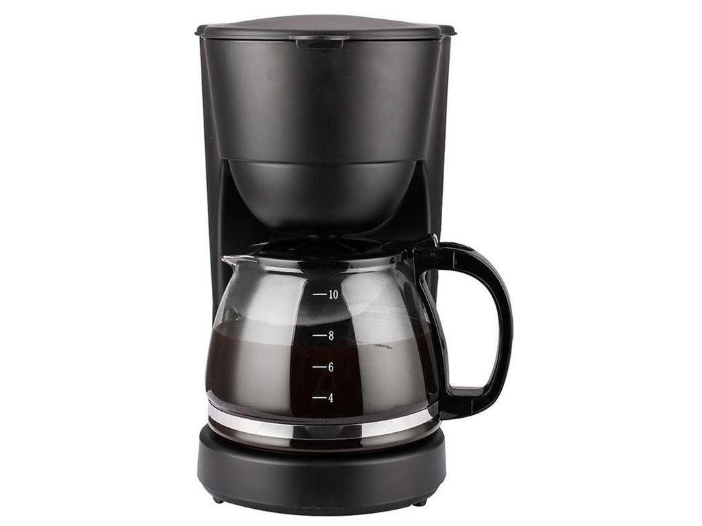 Lentz Καφετιέρα Φίλτρου Γαλλικού Καφέ 750Watt χωρητικότητας 1.25Ltr, σε μαύρο χρώμα, 74142