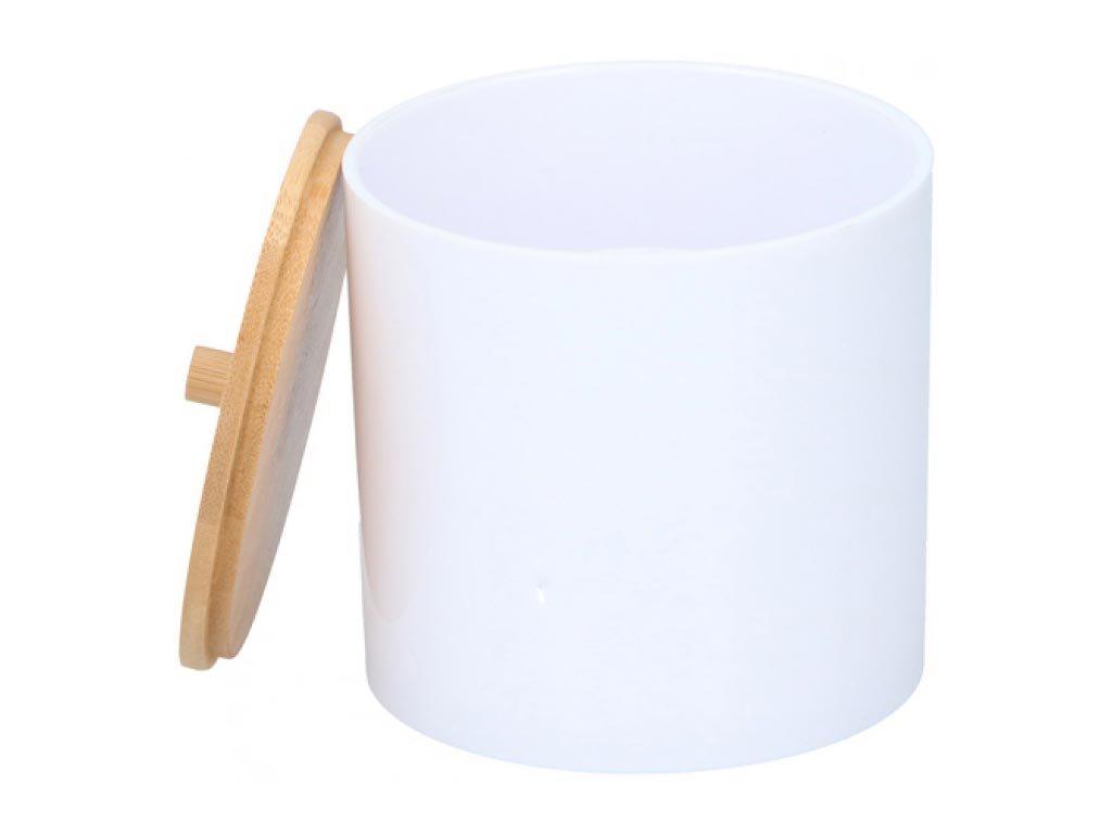 Alpina Θήκη Οργάνωσης Επιτραπέζια Πλαστική Λευκή 18265 Bamboo