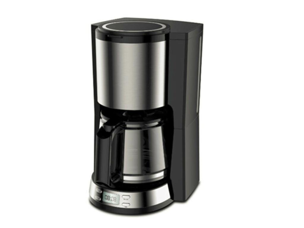 Lentz Καφετιέρα Φίλτρου Γαλλικού Καφέ 1000Watt χωρητικότητας 1.25Ltr και led οθόνη,  74217
