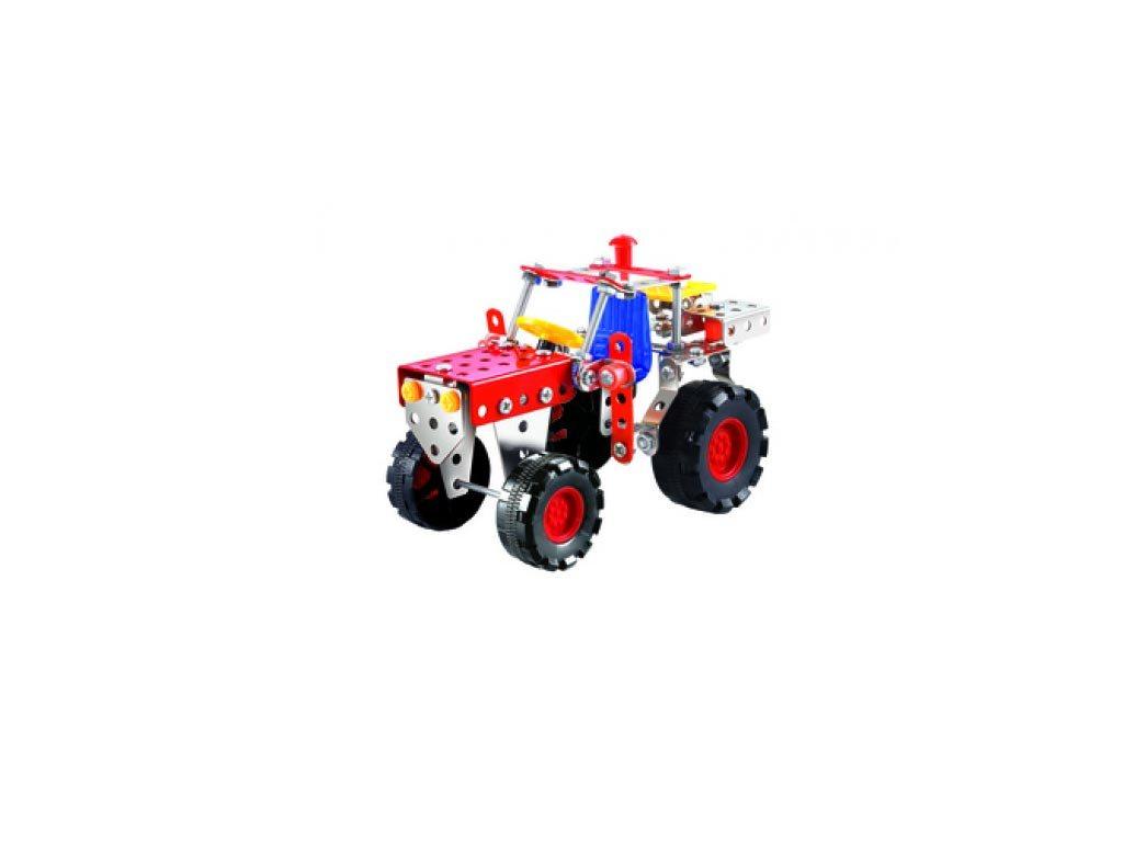 Eddy Toys Όχημα 4-σε-1 Metal Bricks 18334 Κόκκινο 6+ Ετών