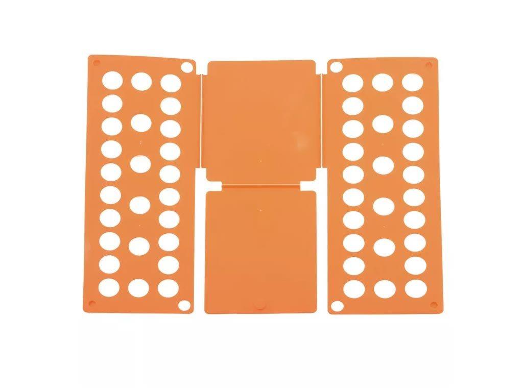 Σύστημα διπλώματος ρούχων XXL , αναδιπλούμενη επιφάνεια, 60x70 cm, Folding Clothes Πορτοκαλί