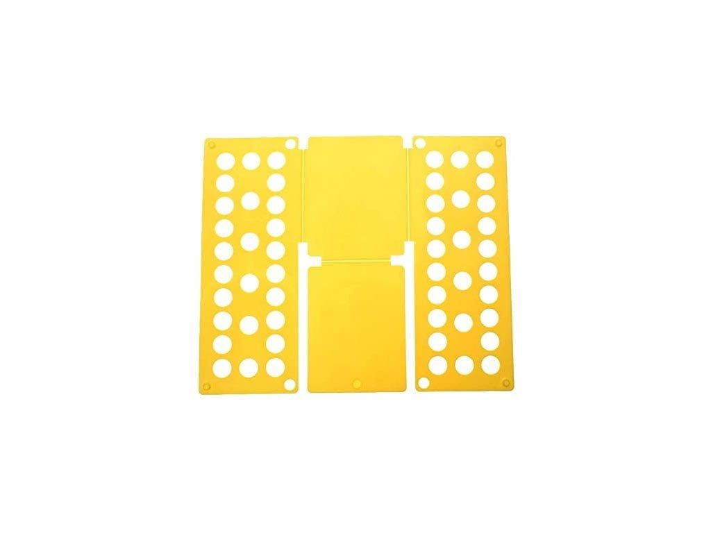 Σύστημα διπλώματος ρούχων XXL , αναδιπλούμενη επιφάνεια, 60x70 cm, Folding Clothes Κίτρινο