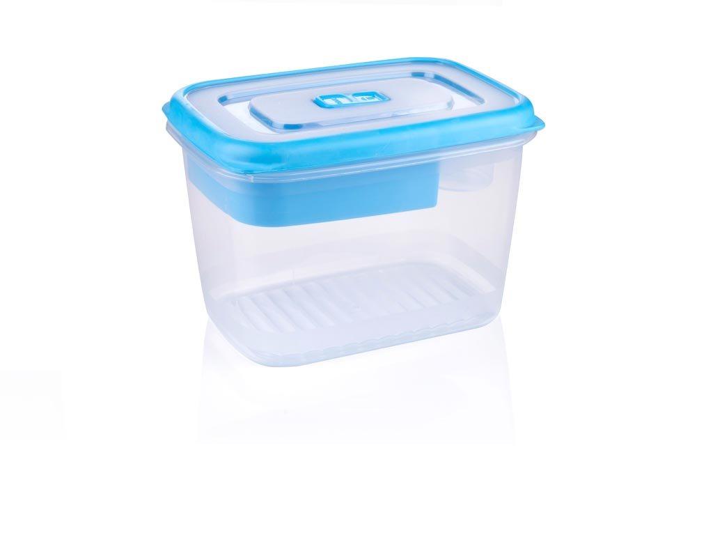 Alpina Φαγητοδοχείο Lunchbox χωρητικότητας 1.7Lt με Χωρίσματα, 50342 Μπλε