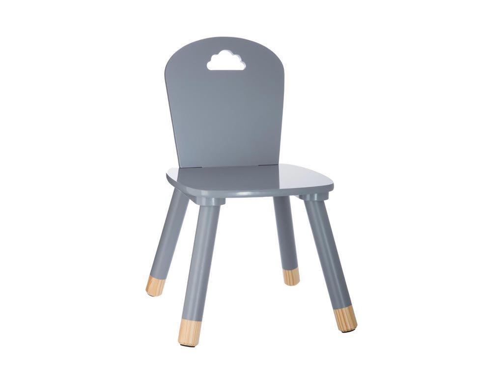 Aria Trade Παιδική Καρέκλα Ξύλινη Sweet Grey