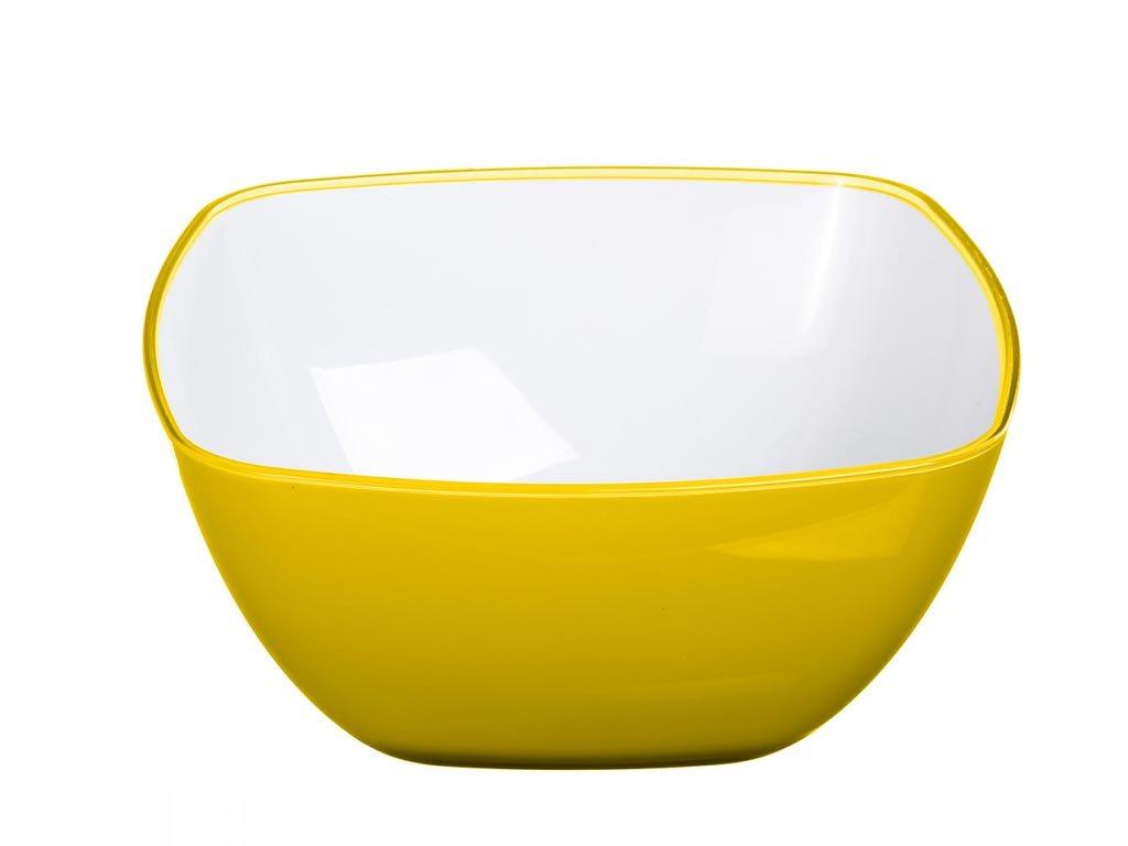 Μπολ Σαλατιέρα Salad Bowl με διάμετρο 25 cm, σε Κίτρινο χρώμα
