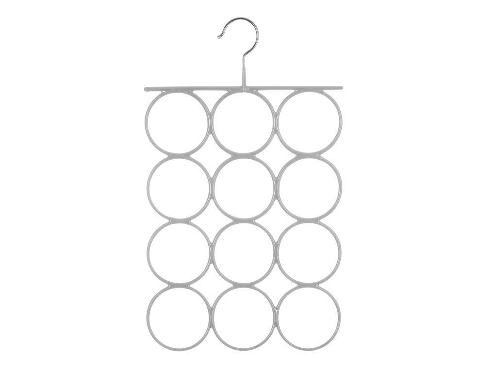 Μεταλλική  Κρεμάστρα Ντουλάπας 12 θέσεων για μαντήλια, 25.2x42.4cm