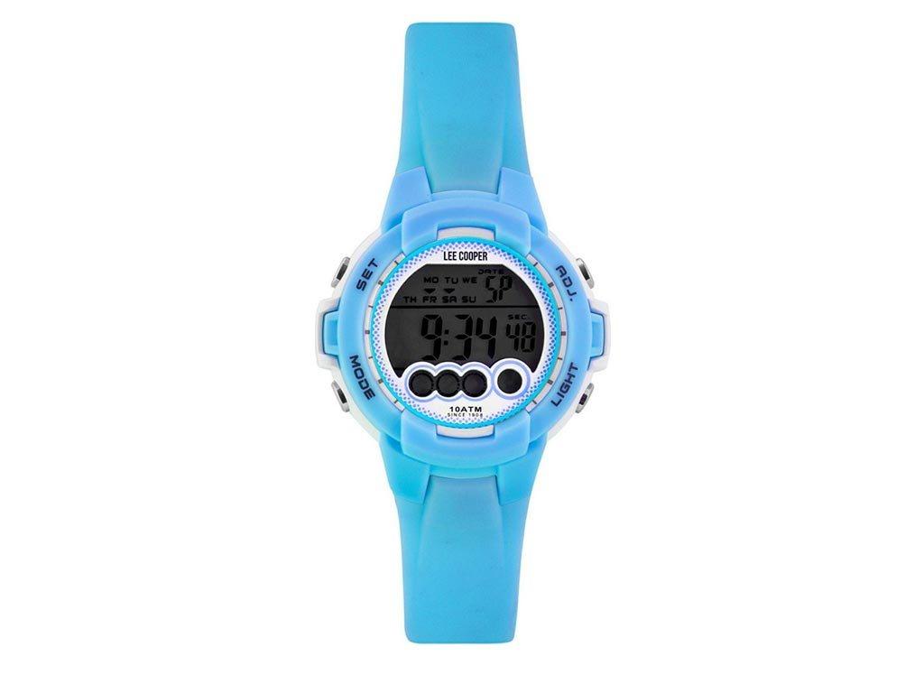 Lee Cooper Ψηφιακό Παιδικό Ρολόι χειρός 35mm με λουράκι καουτσούκ ORG05204.027