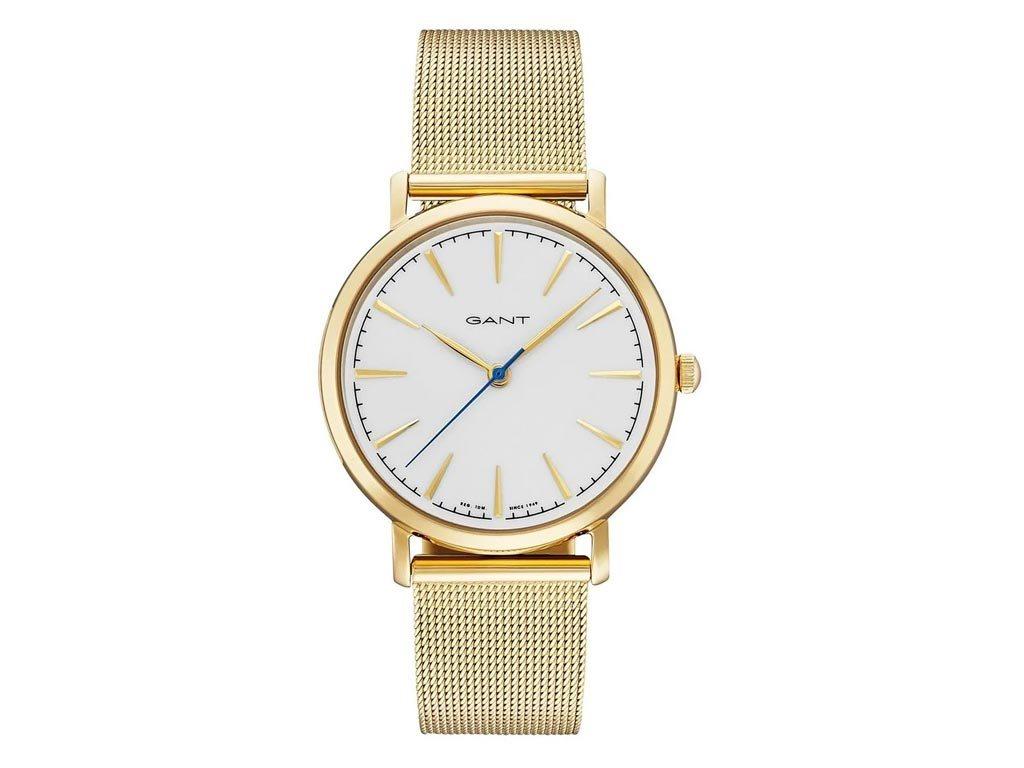 Gant Standford Γυναικείο Ρολόι χειρός 36mm με μπρασελέ σε χρυσό χρώμα, GT021006