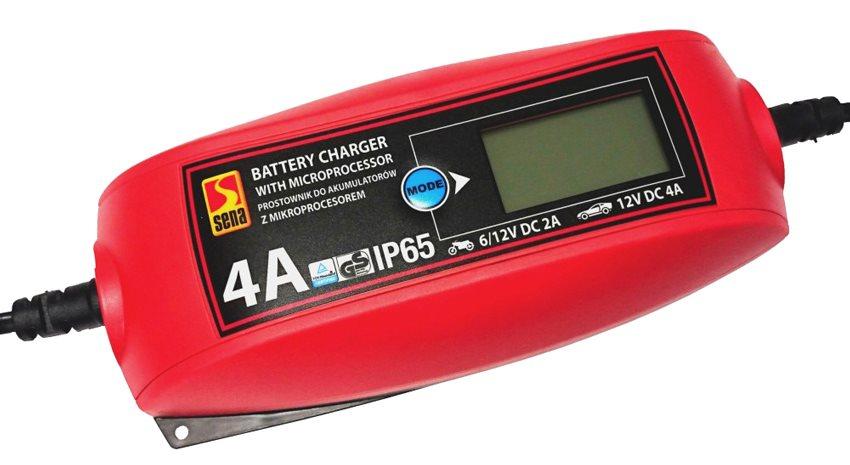 SENA Ψηφιακός φορτιστής μπαταριών οχημάτων 010303 6V/12V 2A/4A