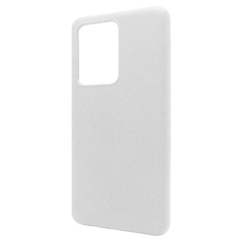 Θήκη Liquid Silicon inos Samsung G988 Galaxy S20 Ultra L-Cover Λευκό