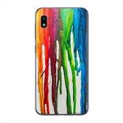 Θήκη TPU inos Samsung A105F Galaxy A10 Art Theme Vertical Watercolor