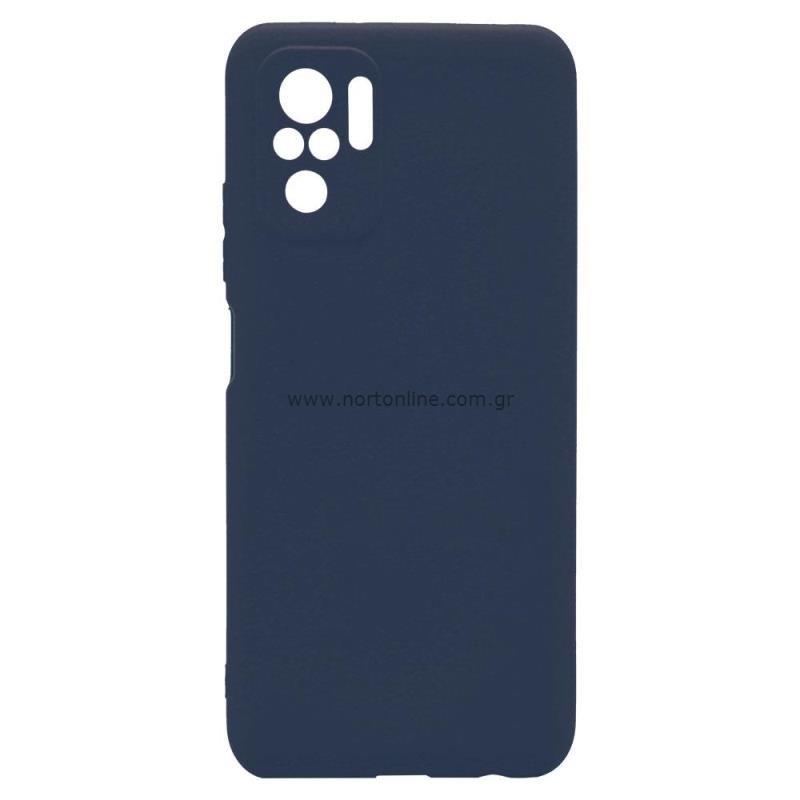 Θήκη Soft TPU inos Xiaomi Redmi Note 10 S-Cover Μπλε