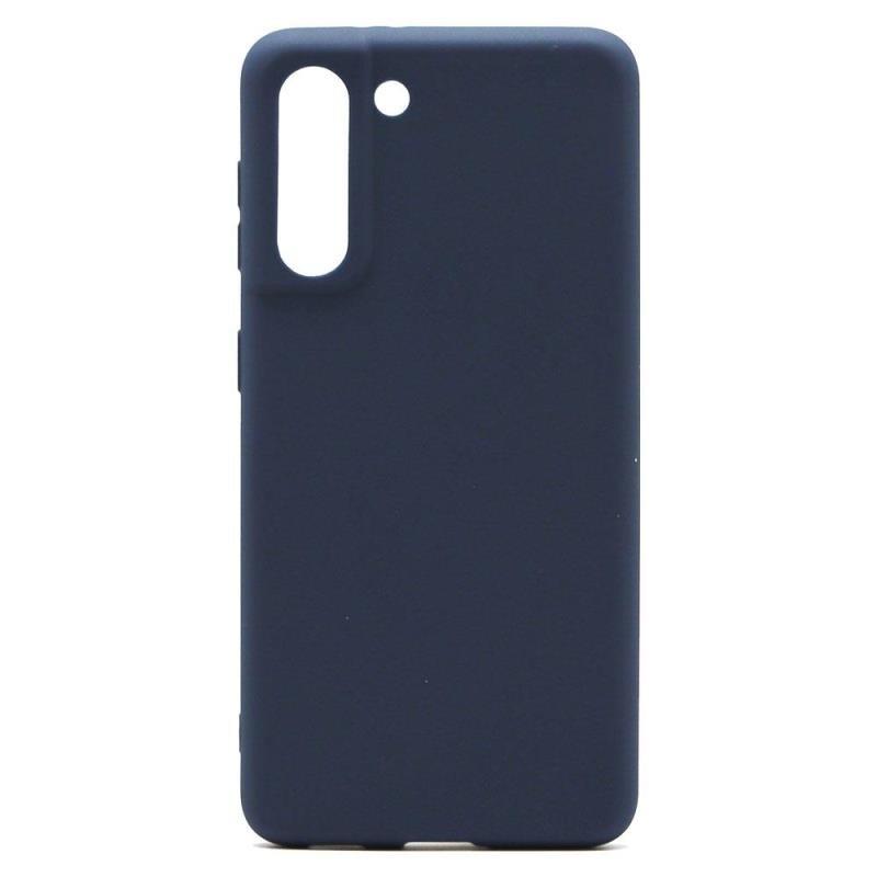 Θήκη Soft TPU inos Samsung G991B Galaxy S21 5G S-Cover Μπλε