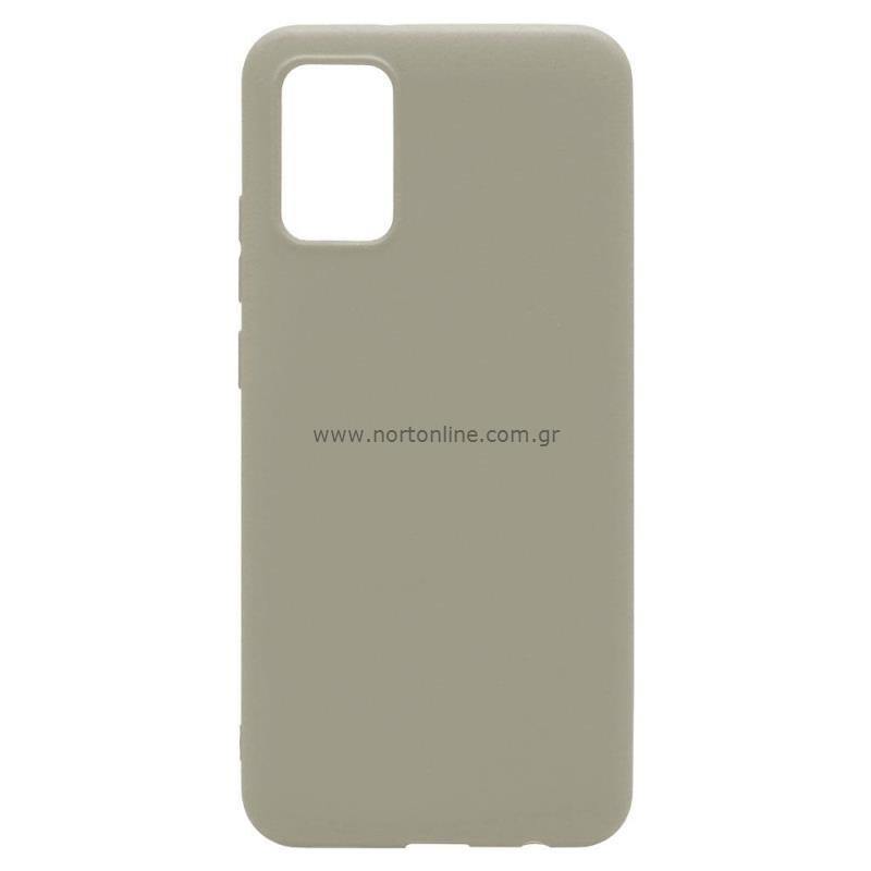 Θήκη Soft TPU inos Samsung A025F Galaxy A02s S-Cover Γκρι