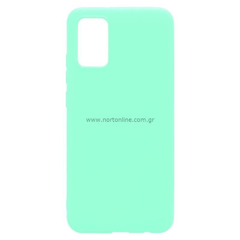 Θήκη Soft TPU inos Samsung A025F Galaxy A02s S-Cover Φυστικί