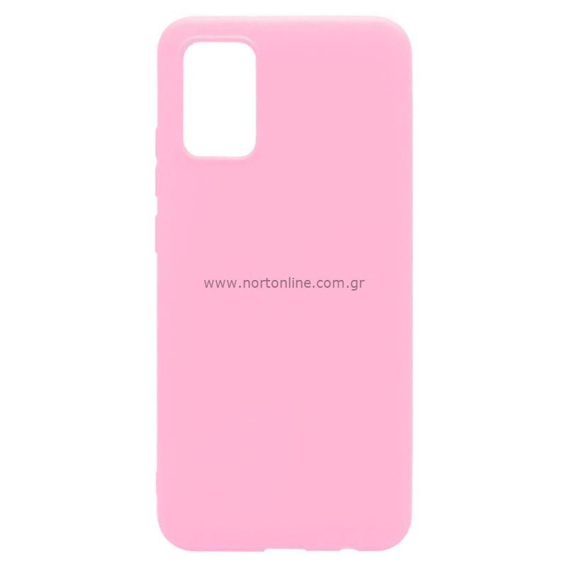 Θήκη Soft TPU inos Samsung A025F Galaxy A02s S-Cover Ροζ