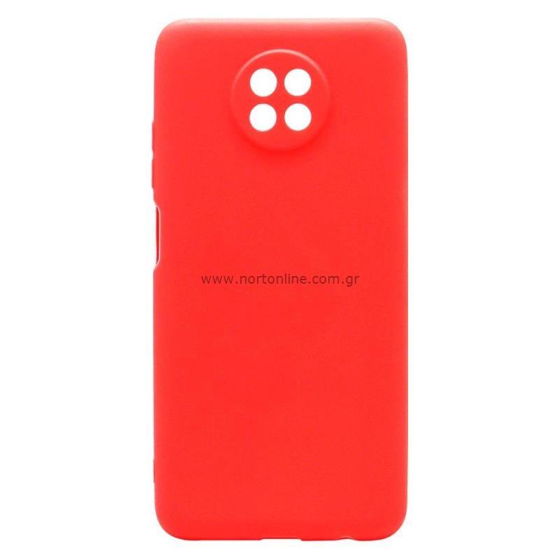 Θήκη Soft TPU inos Xiaomi Redmi Note 9T S-Cover Κόκκινο
