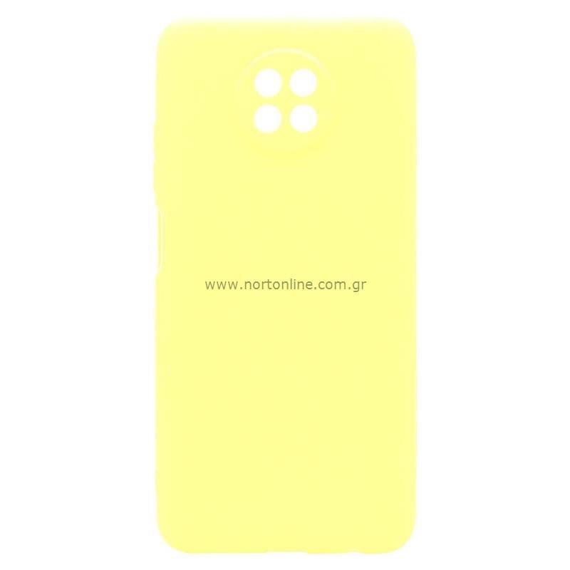 Θήκη Soft TPU inos Xiaomi Redmi Note 9T S-Cover Κίτρινο