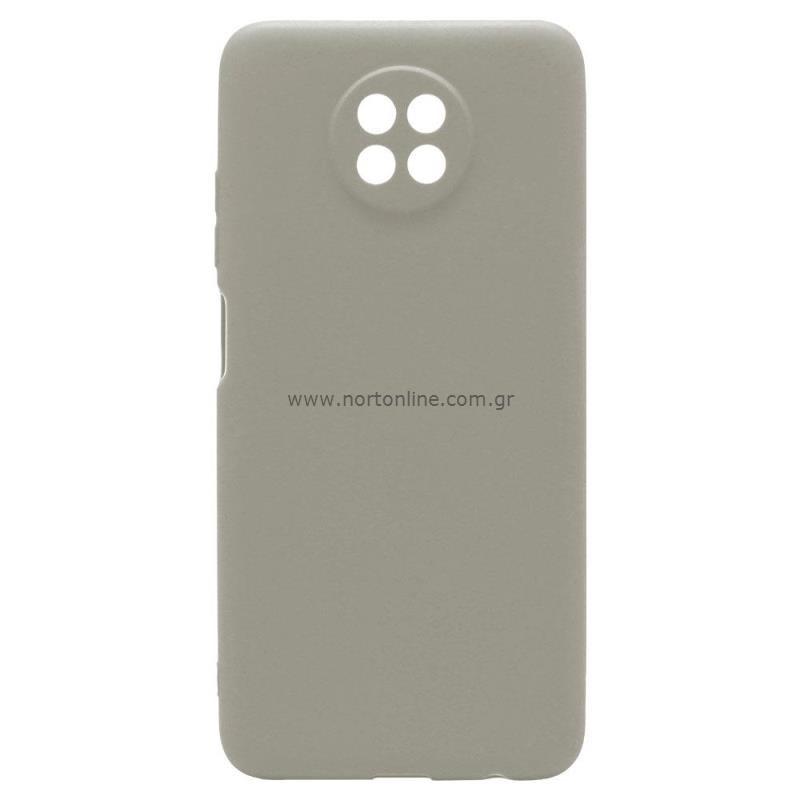 Θήκη Soft TPU inos Xiaomi Redmi Note 9T S-Cover Γκρι