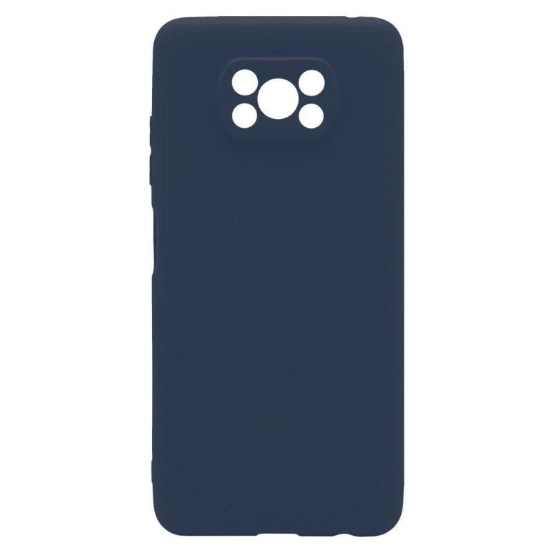 Θήκη Soft TPU inos Xiaomi Poco X3/ Poco X3 Pro S-Cover Μπλε