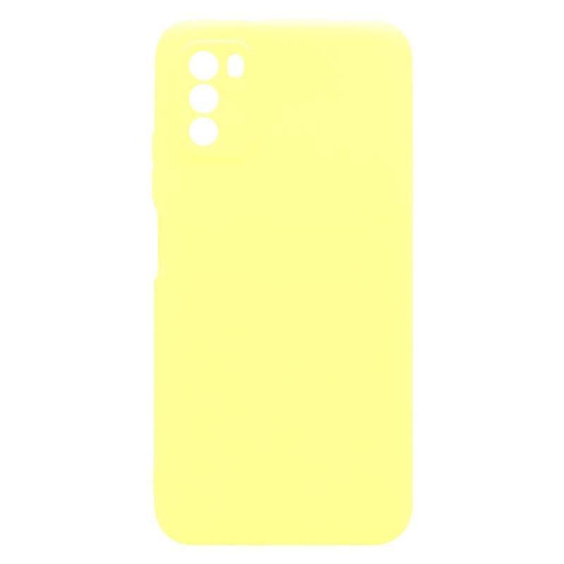Θήκη Soft TPU inos Xiaomi Poco M3 S-Cover Κίτρινο