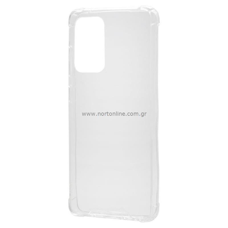 Θήκη TPU & PC Samsung A525F Galaxy A52 Shock Proof Διάφανο