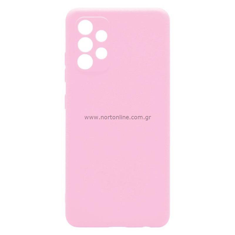 Θήκη Soft TPU inos Samsung A325F Galaxy A32 4G S-Cover Ροζ