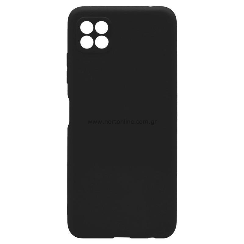 Θήκη Soft TPU inos Samsung A226B Galaxy A22 5G S-Cover Μαύρο