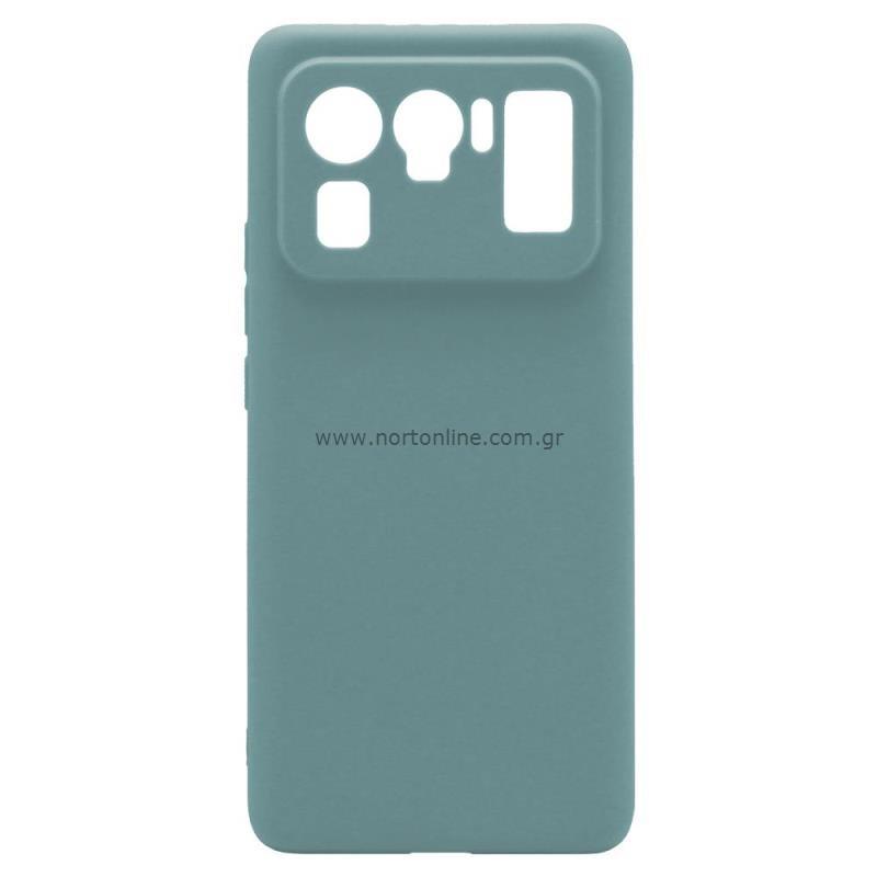 Θήκη Soft TPU inos Xiaomi Mi 11 Ultra S-Cover Πετρολ
