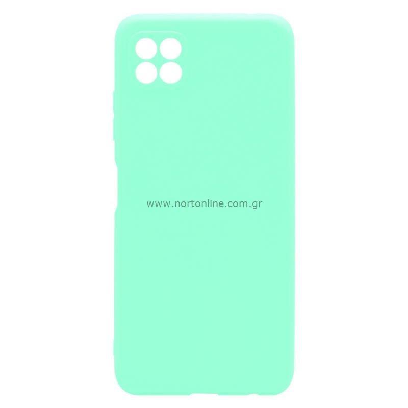 Θήκη Soft TPU inos Samsung A226B Galaxy A22 5G S-Cover Φυστικί