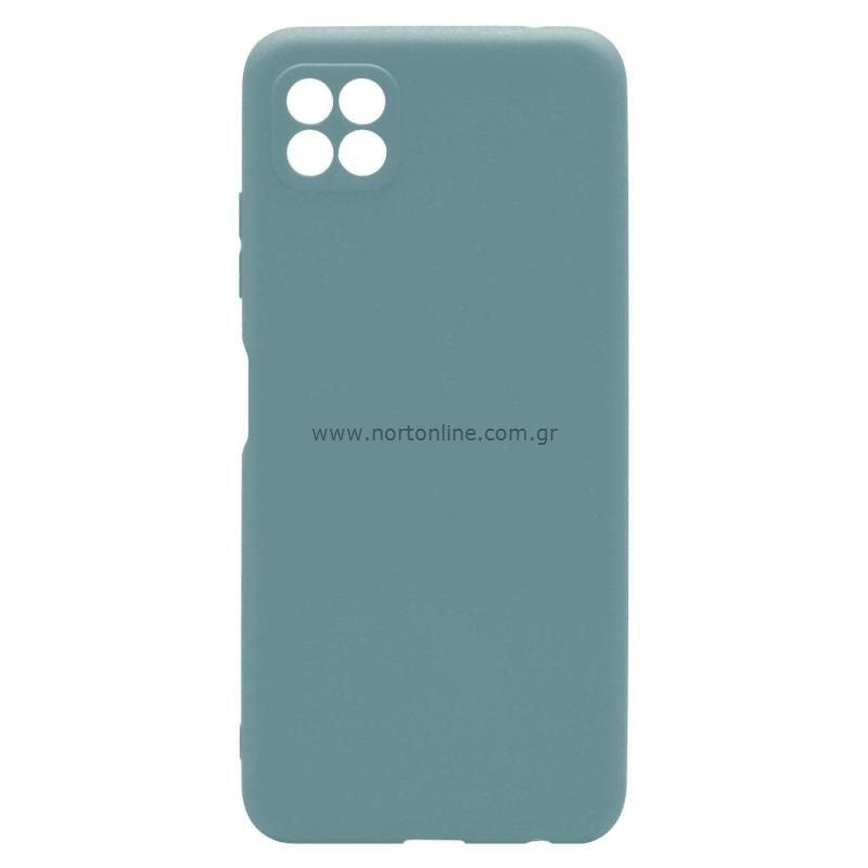 Θήκη Soft TPU inos Samsung A226B Galaxy A22 5G S-Cover Πετρολ