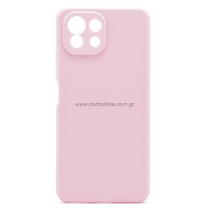 Θήκη Soft TPU inos Xiaomi Mi 11 Lite/ Mi 11 Lite 5G S-Cover Dusty Ροζ