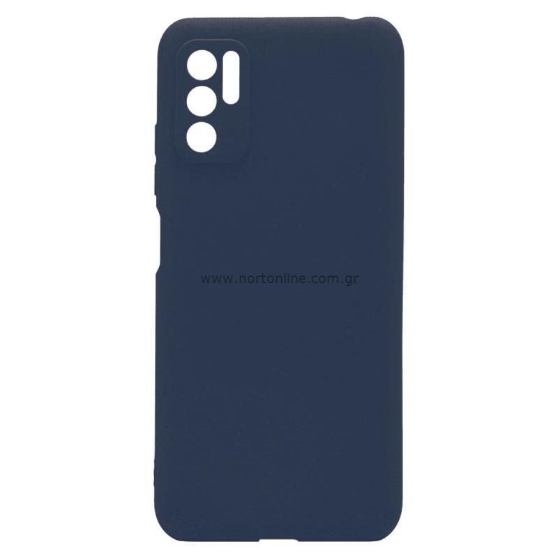 Θήκη Soft TPU inos Xiaomi Redmi Note 10 5G S-Cover Μπλε