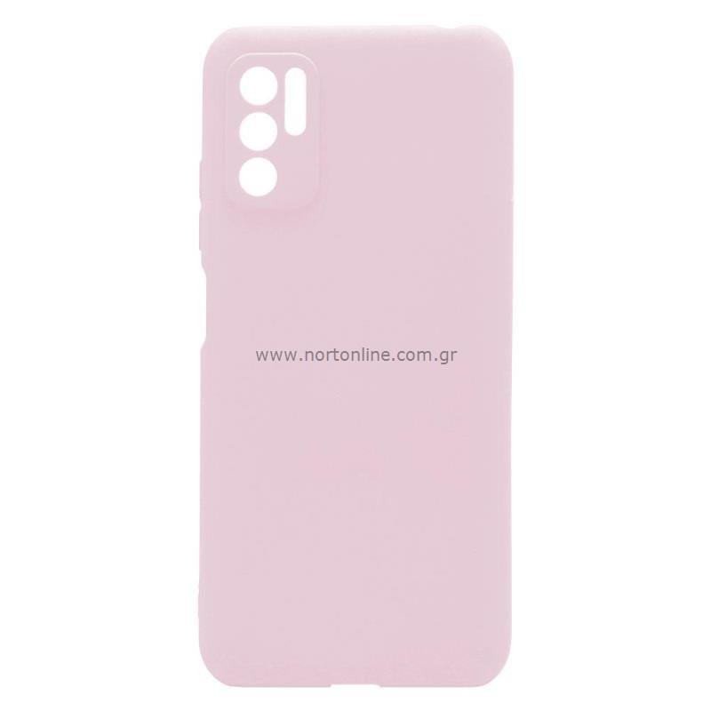 Θήκη Soft TPU inos Xiaomi Redmi Note 10 5G S-Cover Dusty Ροζ