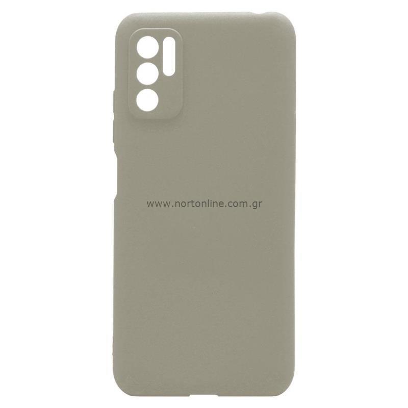 Θήκη Soft TPU inos Xiaomi Redmi Note 10 5G S-Cover Γκρι