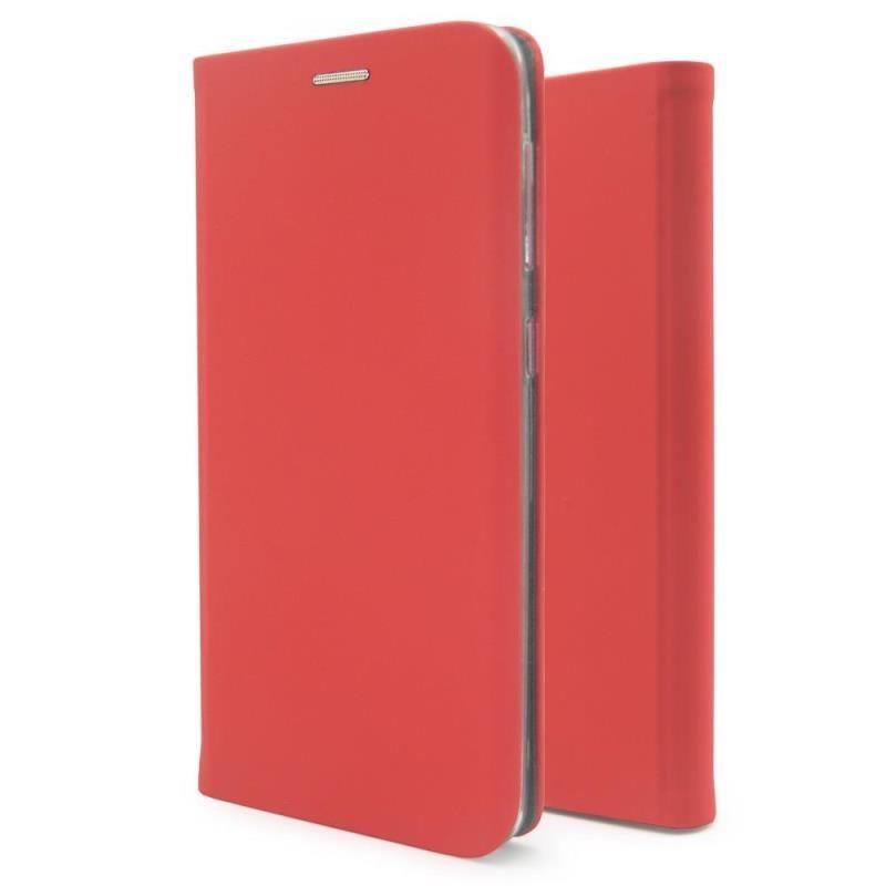 Θήκη Flip Book inos Samsung A525F Galaxy A52/ A526B Galaxy A52 5G Curved S-Folio Κόκκινο