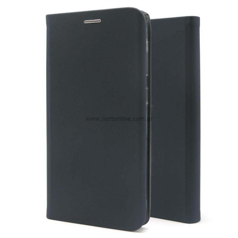 Θήκη Flip Book inos Xiaomi Mi 11 Lite/ Mi 11 Lite 5G Curved S-Folio Παστέλ Μπλε