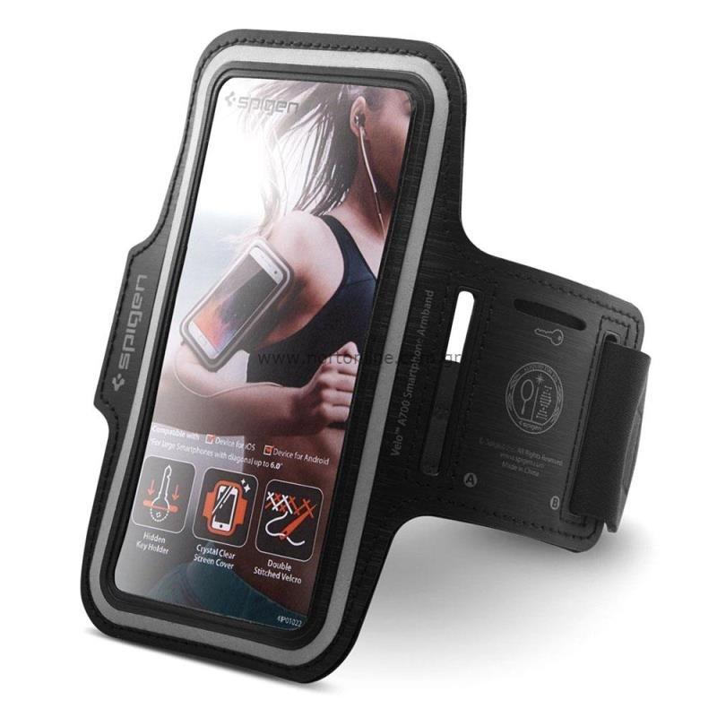 Θήκη Armband Spigen A700 Sport για Smartphones (έως 6.9'') Μαύρο