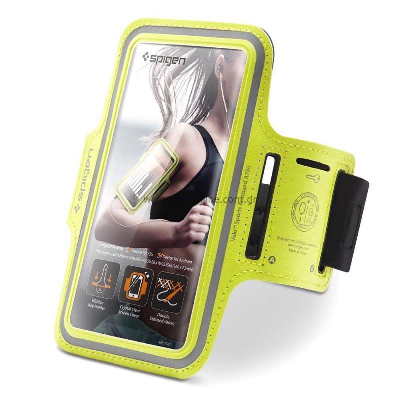 Θήκη Armband Spigen A700 Sport για Smartphones (έως 6.9'') Λαχανί