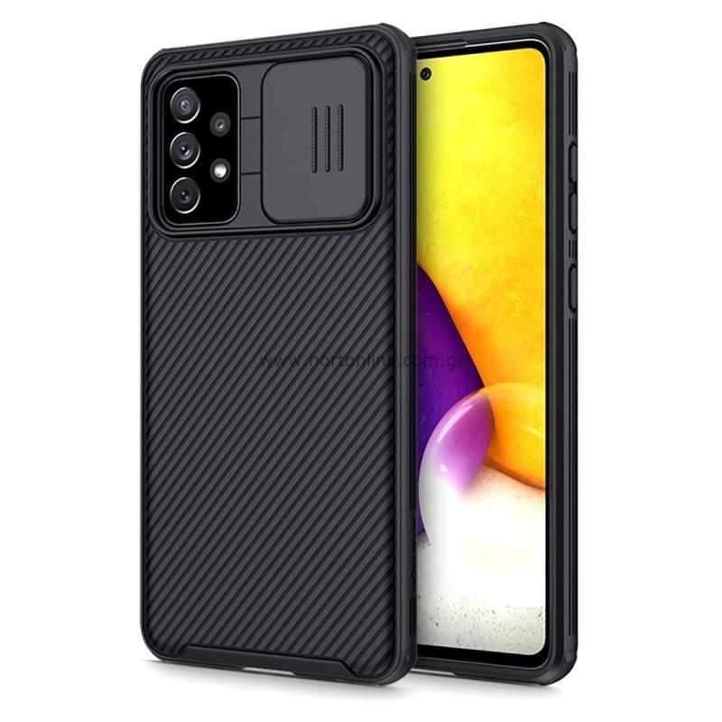 Θήκη Soft TPU & PC Nillkin Camshield Pro Samsung A725F Galaxy A72/ A726B Galaxy A72 5G  Μαύρο