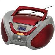 AEG Φορητό ραδιόφωνο με CD/ MP3 player SR 4358 RED