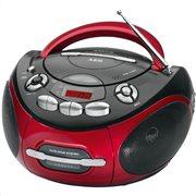 AEG Φορητό ραδιοκασετόφωνο με CD/ MP3 player SR 4353 RED