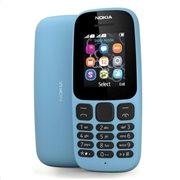 Nokia 105 (Dual SIM) (2017) Feature Phone Μπλε