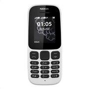 Nokia 105 (Dual SIM) (2017) Feature Phone Λευκό