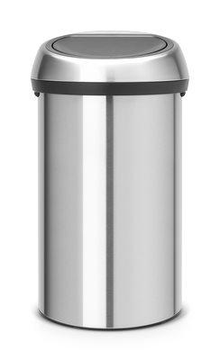 BRABANTIA Δοχείο Απορριμμάτων Touch Bin 60lt Ματ Ανοξείδωγτο - 080.1079/62