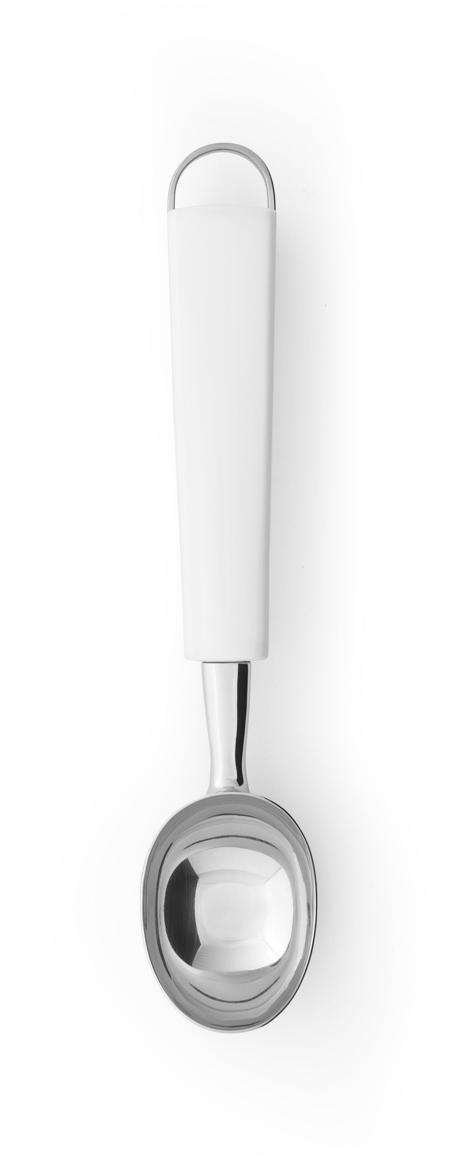 BRABANTIA Κουτάλι Σερβιρίσματος Παγωτού  με Λευκή Λαβή ESSENTIAL LINE - 080.4003/46