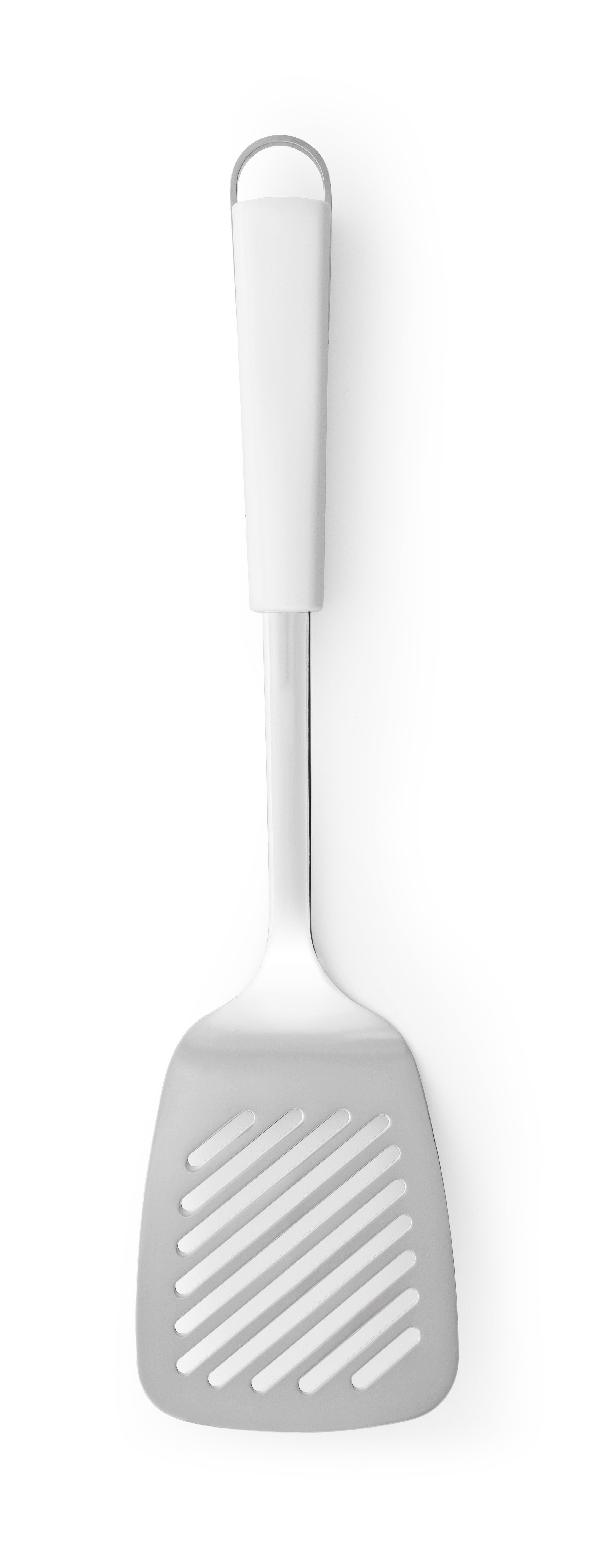 BRABANTIA Σπάτουλα Τρυπητή Ανοξείδωτη με Λευκή Λαβή ESSENTIAL LINE - 080.4005/44