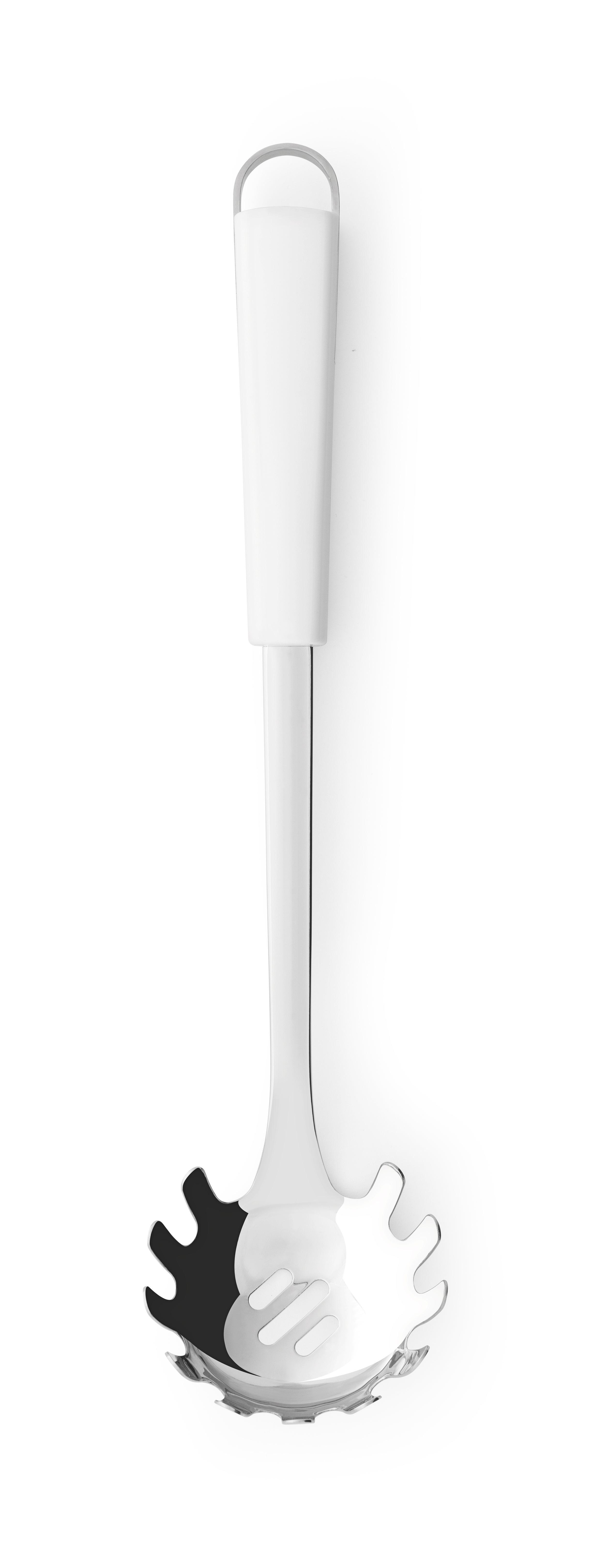 BRABANTIA Κουτάλα Ζυμαρικών Ανοξείδωτη με Λευκή Λαβή ESSENTIAL LINE - 080.4005/82