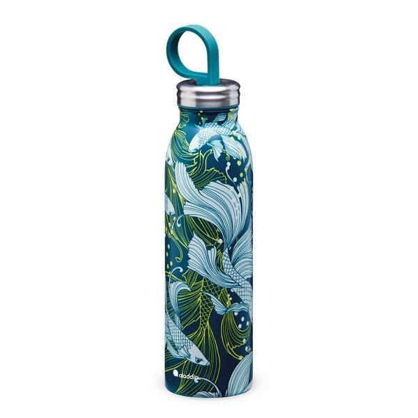 Aladdin Ανοξείδωτο Θερμομονωτικό Μπουκάλι Chilled Thermavac Πράσινο Χρυσόψαρο 0.55lt